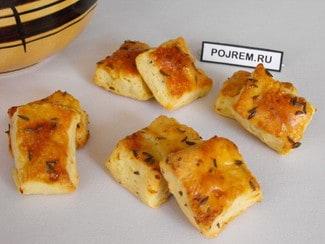 Картофельное печенье с тмином