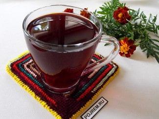 Чай из базилика с лимоном