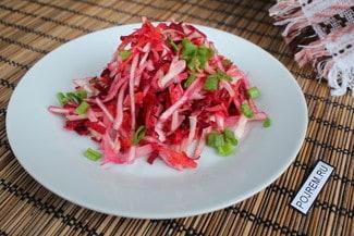 Кишечник скажет вам «Спасибо!» за такой салат. И килограммы лишние уйдут!