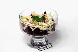 Салат с вареной свеклой