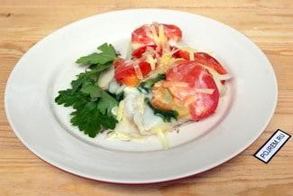 Рыба тушеная с овощами в мультиварке