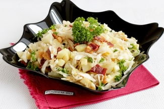 Картофельный салат с яблоками