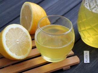 Лимонный ликер на водке