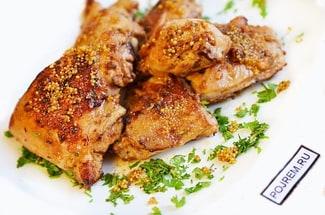 Цыплёнок жареный