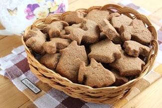 Простое шоколадное печенье с какао за 30 минут