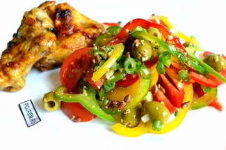 Салат из болгарского перца