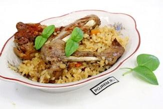 Утка в мультиварке с рисом