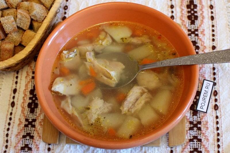 суп из индейки рецепты с фото запахом свободного