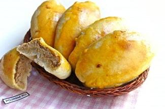 Пирожки с печеночным паштетом