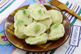 Пельмени с картошкой