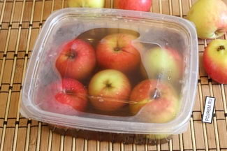 Квашеные яблоки