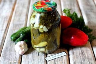 Салат из огурцов «Дамские пальчики» на зиму