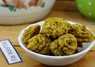 Овощное печенье