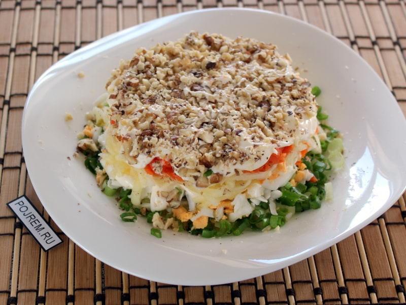 преимущество салат из печени трески слоями с фото фауна, как флора