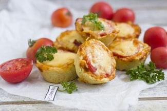 Домашняя мини-пицца
