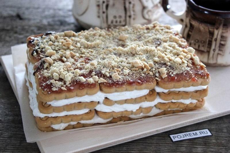 торты с печенья рецепт и фото декоративные средства