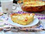 Пирог из лаваша с сыром и яйцом