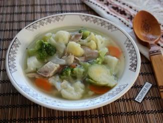 Суп с кроликом