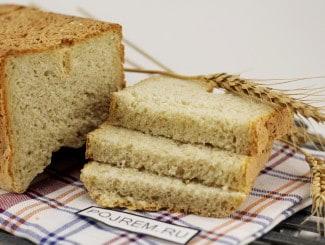Хлеб из овсяной муки в хлебопечке