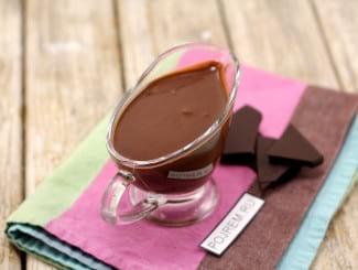 Шоколадная глазурь на водяной бане