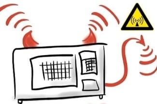 Физики советуют проверять безопасность микроволновки с помощью смартфона. Проверка способа.
