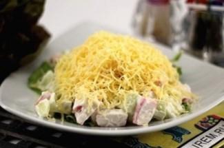 Салат с крабовым мясом «Необычный». Раскрываю секрет оригинального вкуса.