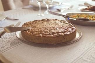 Мое приспособление для извлечения пирога из неразъемной формы. Делюсь идеей.