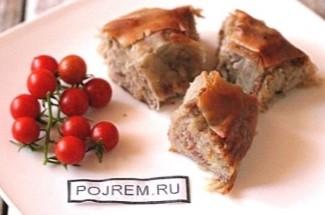 После поздки в Крым захотелось и мне притронуться к татарской кухне. Делюсь простым рецептом наивкуснейшей бурмы.