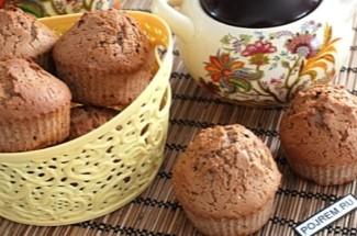 Мешаю миксером 3 продукта и ставлю в духовку на 25 минут — проще кексы не бывают