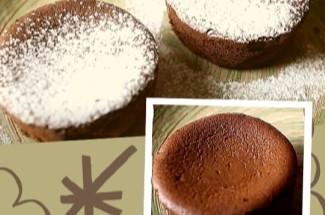 Маффины «Шоколадная феерия» без муки и всего из 2ух ингредиентов