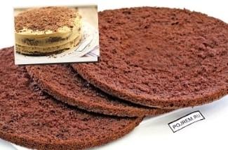 Бисквитный шоколадный торт со сметанным кремом за 20 минут? Нет ничего проще