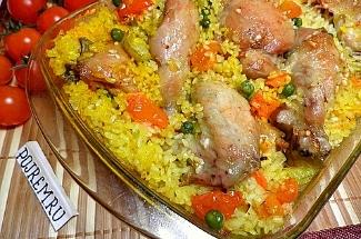Делюсь рецептом «Ленивая Сковорода» с рисом и курицей. Ароматный и сочный ужин за 40 минут