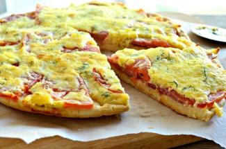 Картофельная пицца: два аппетитных рецепта и секреты приготовления пышного теста