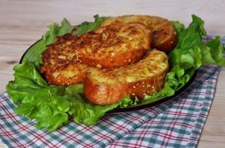 Картофельные гренки: простой, но аппетитный завтрак, который едят все в моей семье