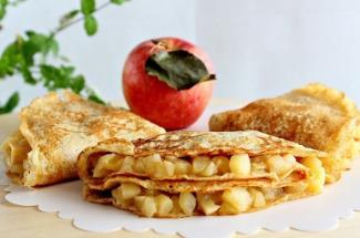 Овсяноблин с яблоками: отличный вариант полезного и вкусного завтрака — вместо каши
