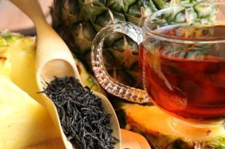 C ананасом, молочный латте и другие необычные рецепты вкусного чая