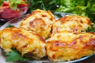 Мясо в картофельной шубке: не оставит равнодушным даже гурманов