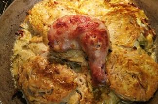 Капуста перестанет быть скучной, если запечь ее с курицей – отличный ужин, словно из ресторана