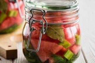 Арбуз к новогоднему столу. 4 способа заготовить арбузы на зиму