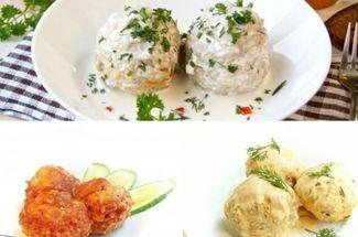 Нежнейшие ежики готовлю каждую неделю с разными соусами: 3 варианта на любой вкус
