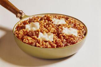 Теперь готовлю макароны без варки, прямо в сковороде. Получается не хуже ресторанной карбонары