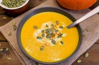 Куда деть урожай тыквы: отличный вариант – крем-суп с семечками, нравится даже мужчинам