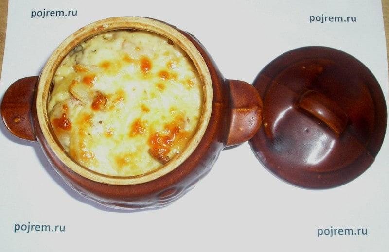 Рецепты в горшочках с пошаговым фото свинина
