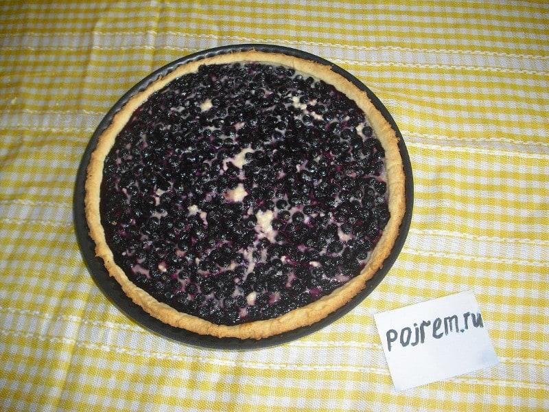 рецепт приготовления черничного пирога