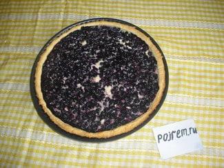 Черничный пирог (тарт)