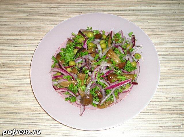 датский салат рецепт с опятами