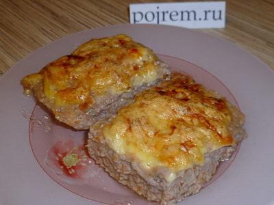 рецепт котлет с яйцом и сыром в духовке рецепт