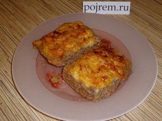 Котлеты с сыром, запеченные в духовке