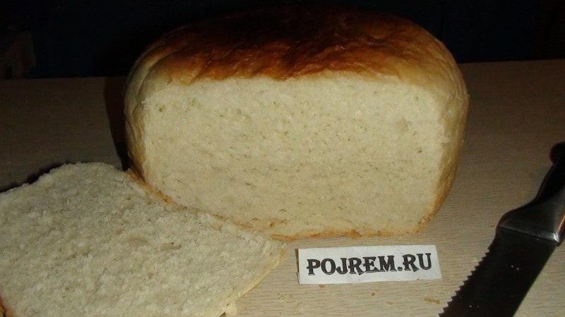 Хлеб в домашних условиях в духовке рецепты 89
