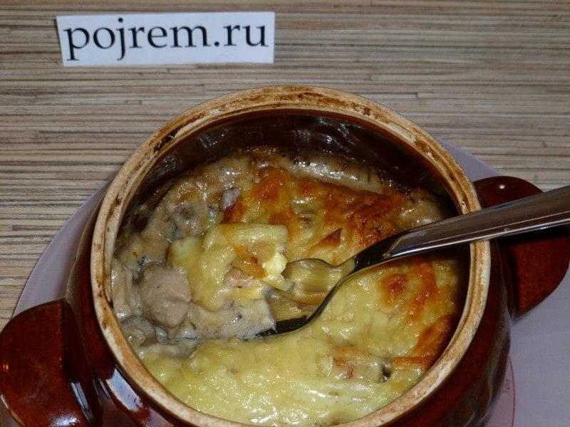 Рецепт жульен с курицей
